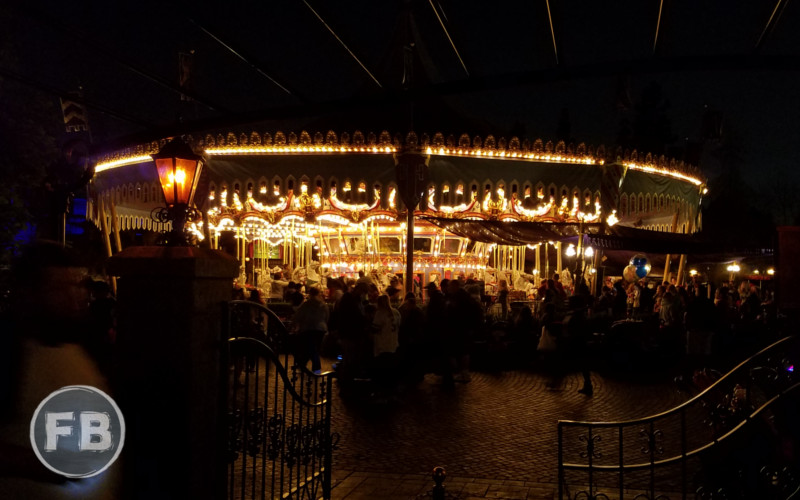King Arthur Carousel at night
