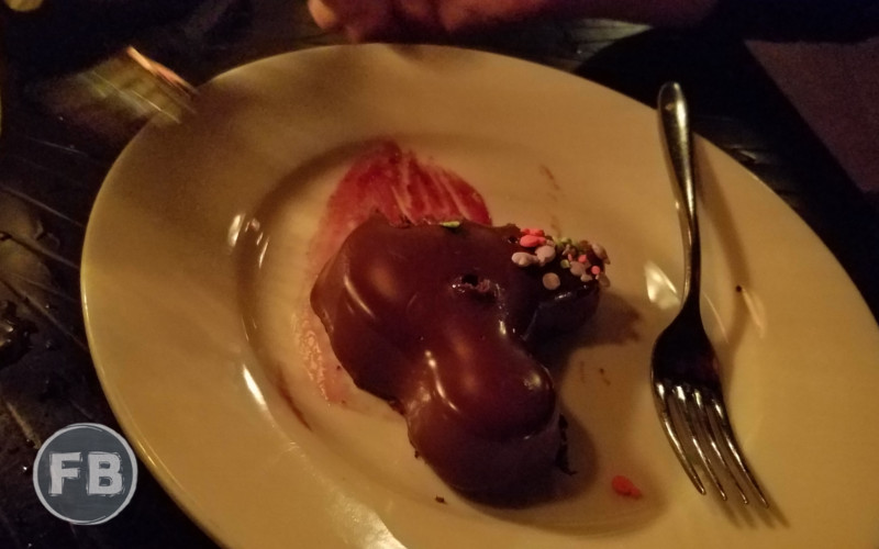 Blue Bayou Fruits Birthday Dessert