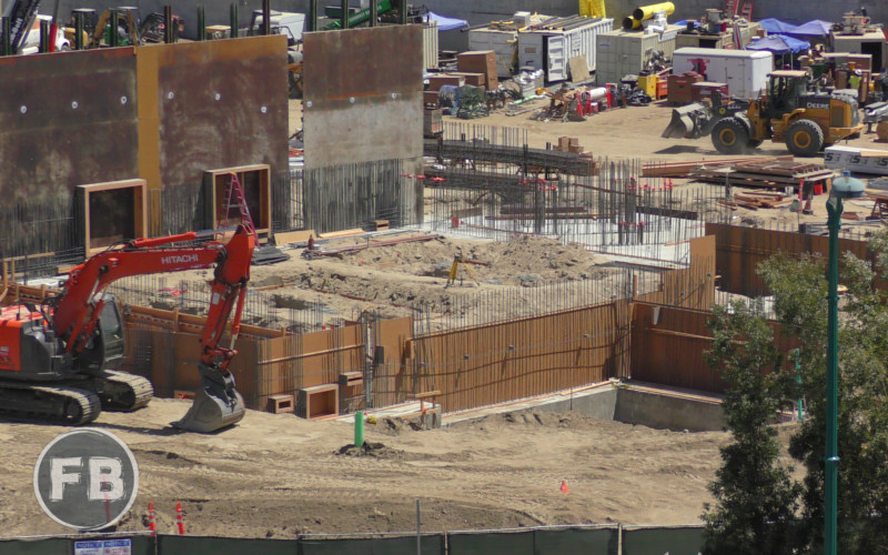 Star Wars Land Construction - 2017/04/22
