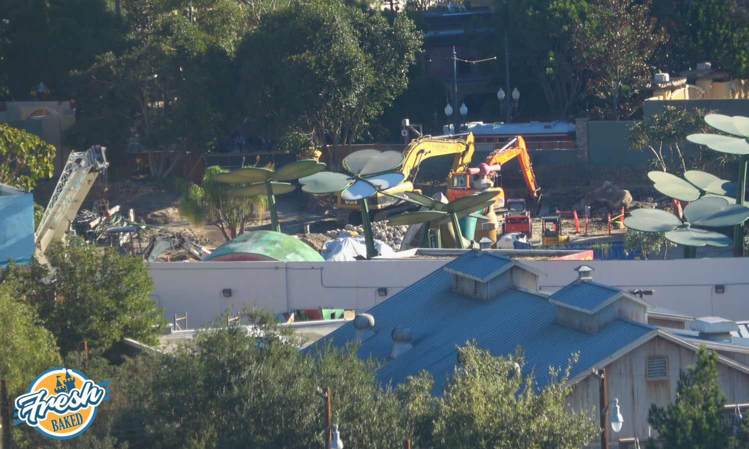 Marvel Land On The Way Disneyland Construction 2018 12 08
