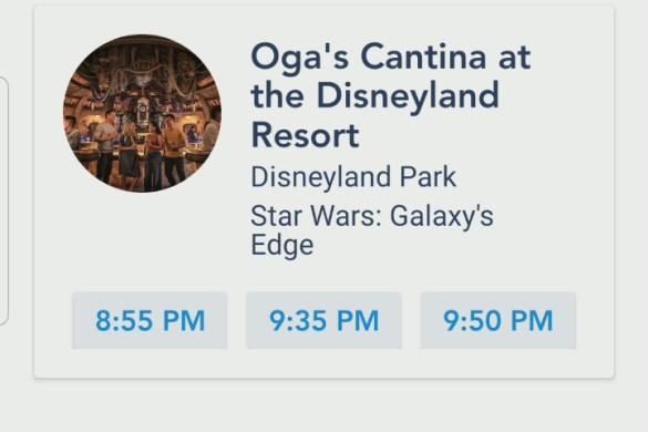 Ogas Cantina now accepting reservations 60 days in advance