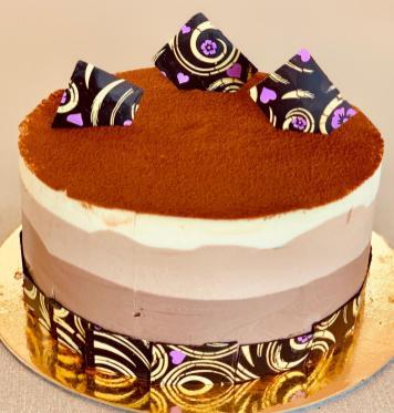 Three Shades of Chocolate !!