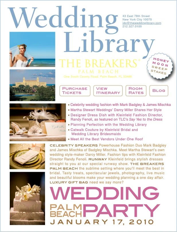 Wedding Party Palm Beach at The Breakers!