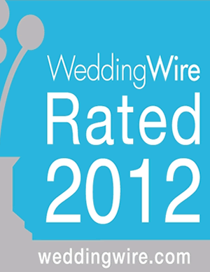 2012 Wedding Wire Rated!