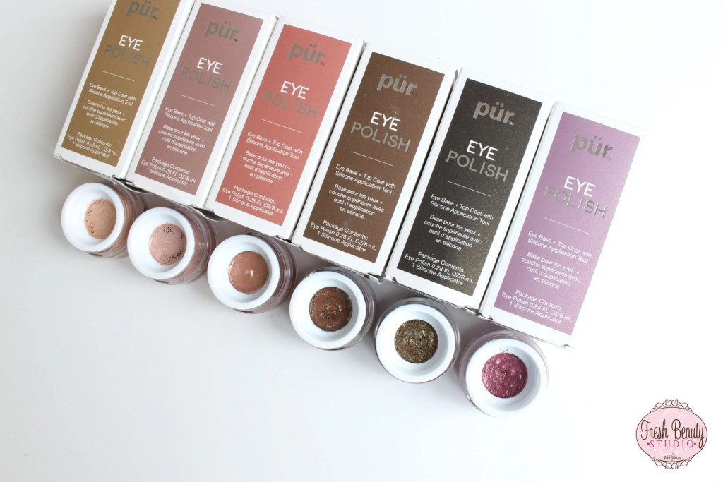 PUR EYE POLISH REVIEW + SWATCHES