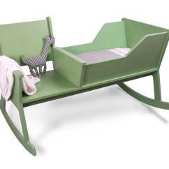 Rocking Chair Cradle Folding Lawn Chairs Walmart Rockid Babywiege Und Schaukelstuhl Freshdads Väter