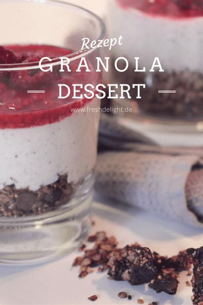 granola-dessert