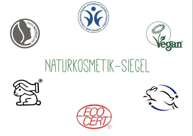 Naturkosmetik-Siegel