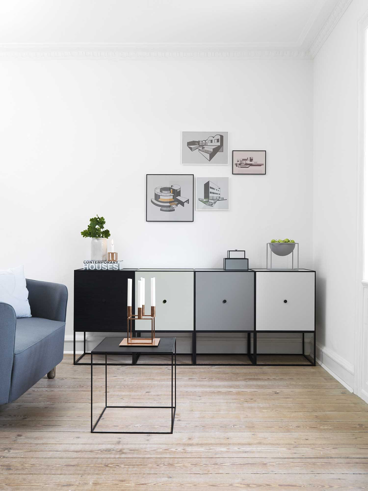 Mobili componibili Frame di by Lassen design alta