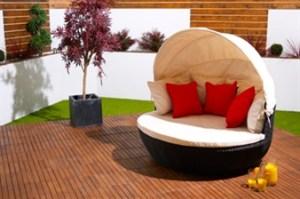 Contemporary love sofa