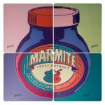 Bright and fun Marmite placemats