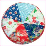Kimono round floor cushion