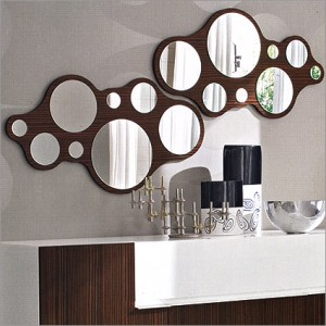 Fun and funky Bubbles mirror