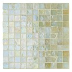 Fired Earth iridescent glass mosaic tiles