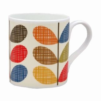 Gorgeous Orla Kiely design mugs