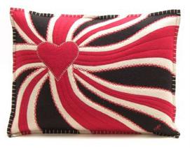 Jan Constantine Union Jack swirl cushion