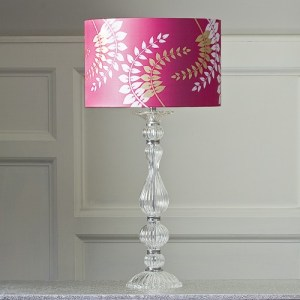 Lovely glass lamp base
