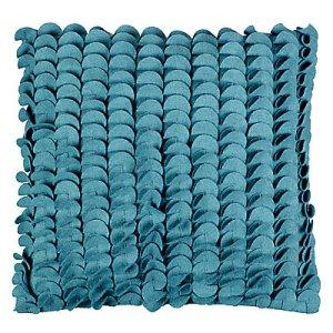 Lovely teal cushion