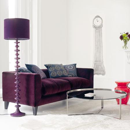 Snooze velvet sofa from Graham and Green ~ Fresh Design Blog