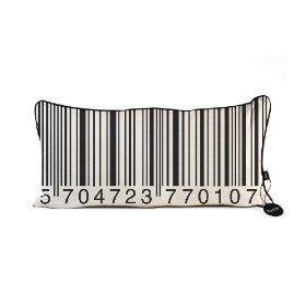 Funky barcode cushion