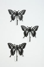 Stylish butterfly hooks