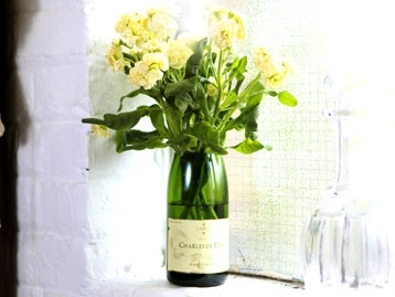 Champagne Bottle Vase Fresh Design Blog