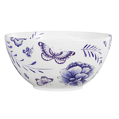 Special offer Jasper Conran blue butterfly salad bowl