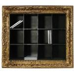 Seletti framed CD notorious storage shelf