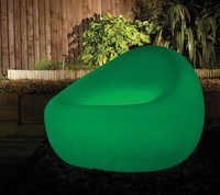 Glow tub chair and coffee table