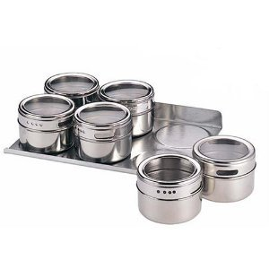 Magnatin magnetic spice rack