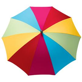 Multicoloured parasol