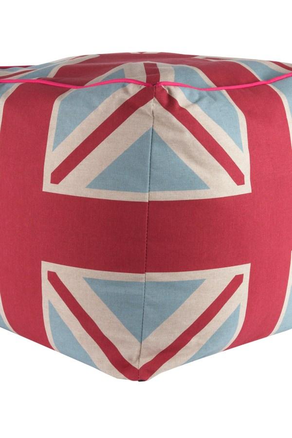 Union Jack bean cube seat