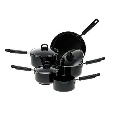 Half price Prestige five piece pan set