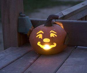 Ready made Halloween pumpkin lantern light