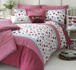 Designer bedding and curtains by Kirstie Allsopp Location Location Location