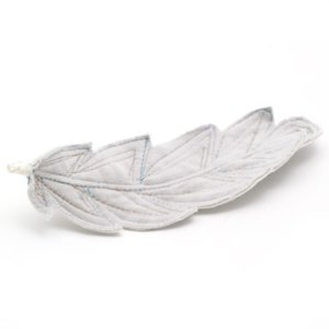 Felt feather Christmas decoration