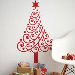 Contemporary Christmas tree wall sticker by Spin Collective