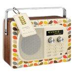 Orla Kiely Pure Evoke Mio DAB radio