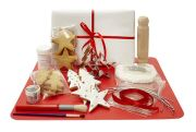 Decorated biscuit kit