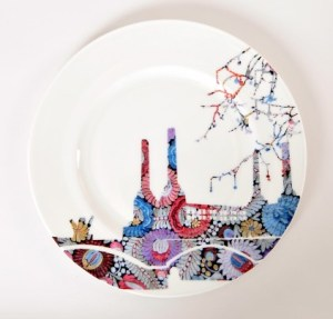Designer Battersea embroidery