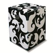 Black and white monotone furniture seat