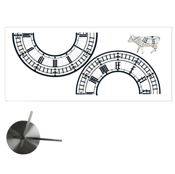 Big Ben wall clock wall sticker: Take two