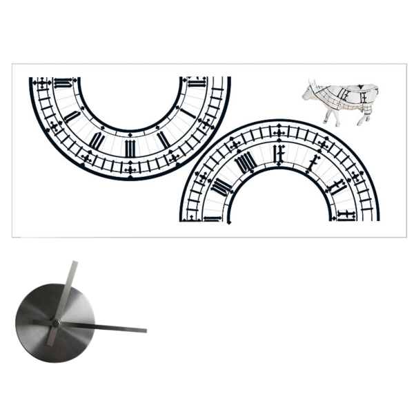 Big Ben wall clock wall sticker: Take two