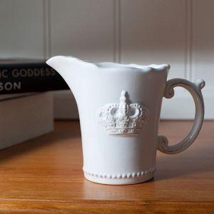 Royal Wedding 2011 crown milk jug