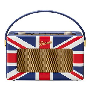 Union Jack home interior design radio
