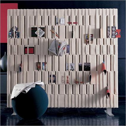 B&B italia soft wall room divider from Mac and Mac Interiors