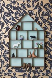 Stylish interior design storage idea