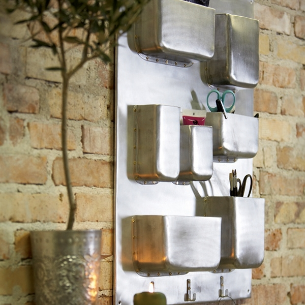 Industrial wall storage unit by House Doctor DK