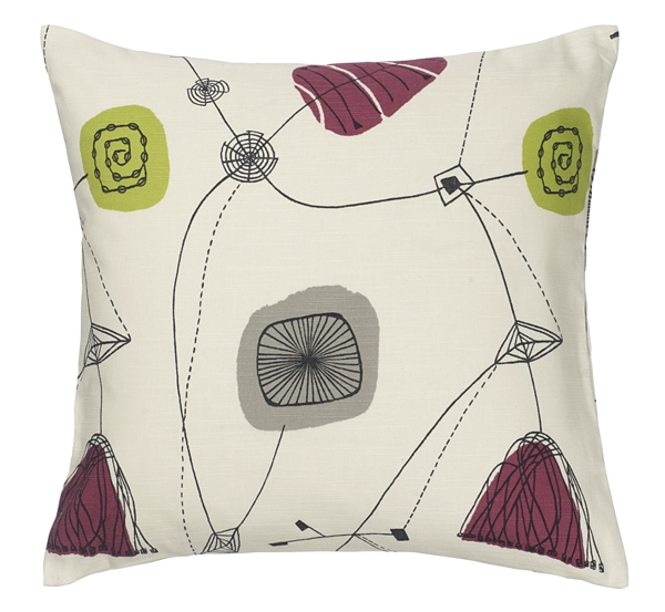 Sanderson Perpetua cushion from John Lewis