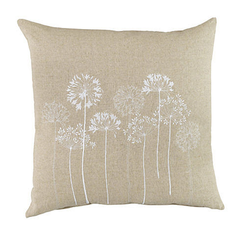 Linen flower print cushions from Plant Theatre